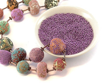 how to cook polymer clay beads